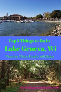 Top 5 Things To Do In Lake Geneva Wisconsin Happy Mom Hacks