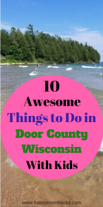 10 Best Things to Do in Door County Wisconsin on Family Vacation. Learn before you go the best attractions to explore, beaches, restaurants and fish boils with kids. #Doorcountywisconsin, #FamilyVacation, #Trips, #Triptips, #Wisconsintravel