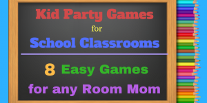 Elementary School Party Games & Ideas