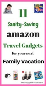 11 Amazon Products for your Next Family Vacation