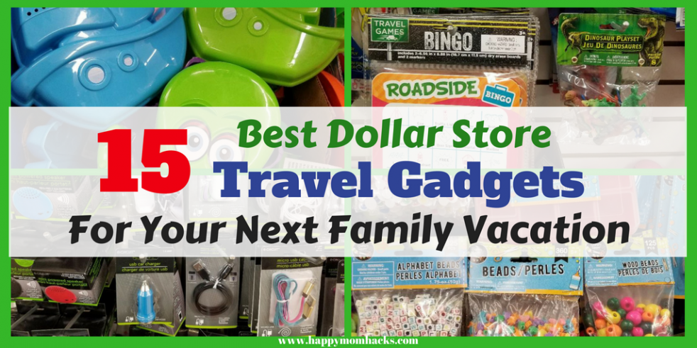 Family Travel Games. Need to entertain your kids on your next trip? Pick up these 15 Dollar Store Travel Gadgets and Accessories for your kids. Save money and keep everyone happy using these travel hacks and ideas on your next family vacation. #DollarStore, #TravelHacks, #FamilyTravel