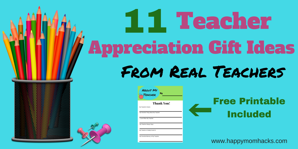 Teacher Appreciatin Gifts