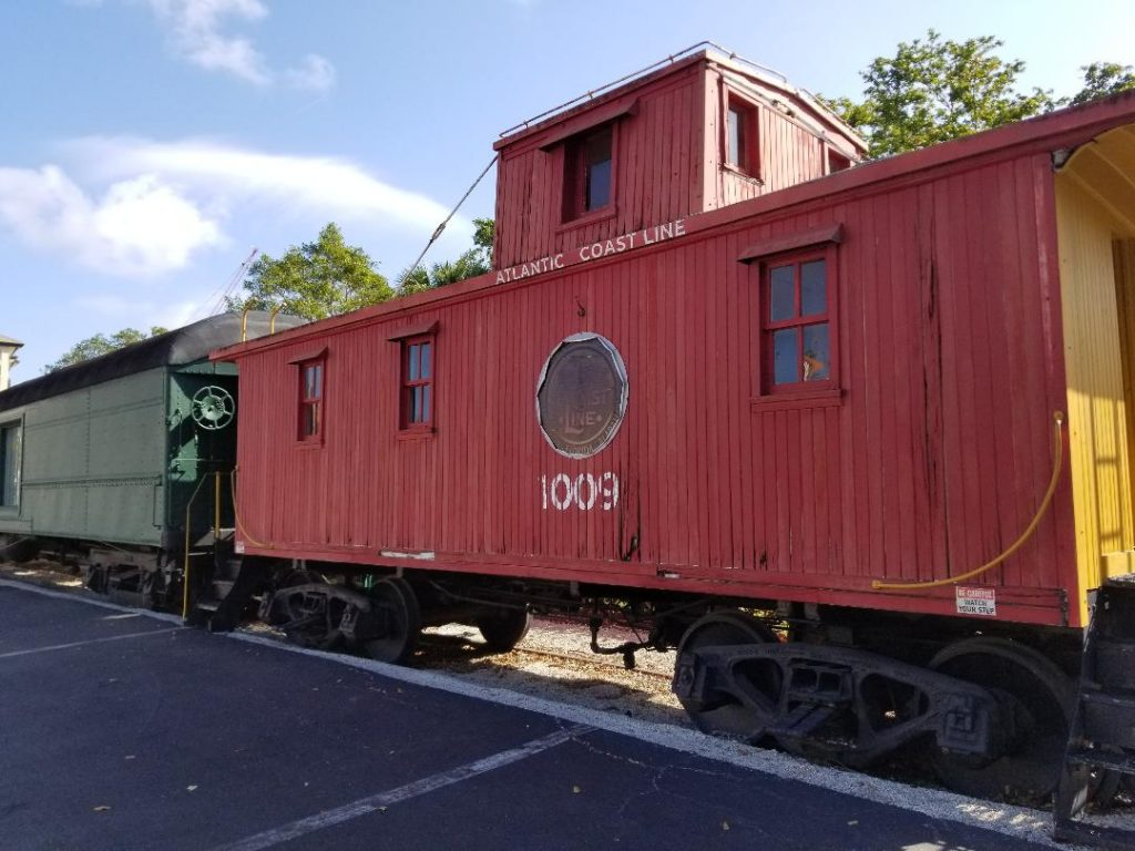 Naples Train Depot is a free Museum in Naples Florida.  Explore the history of the local Naples area and learn about the trains used to help the economy. Great spot for kids and adults to explore while on a Family vacation in Naples.