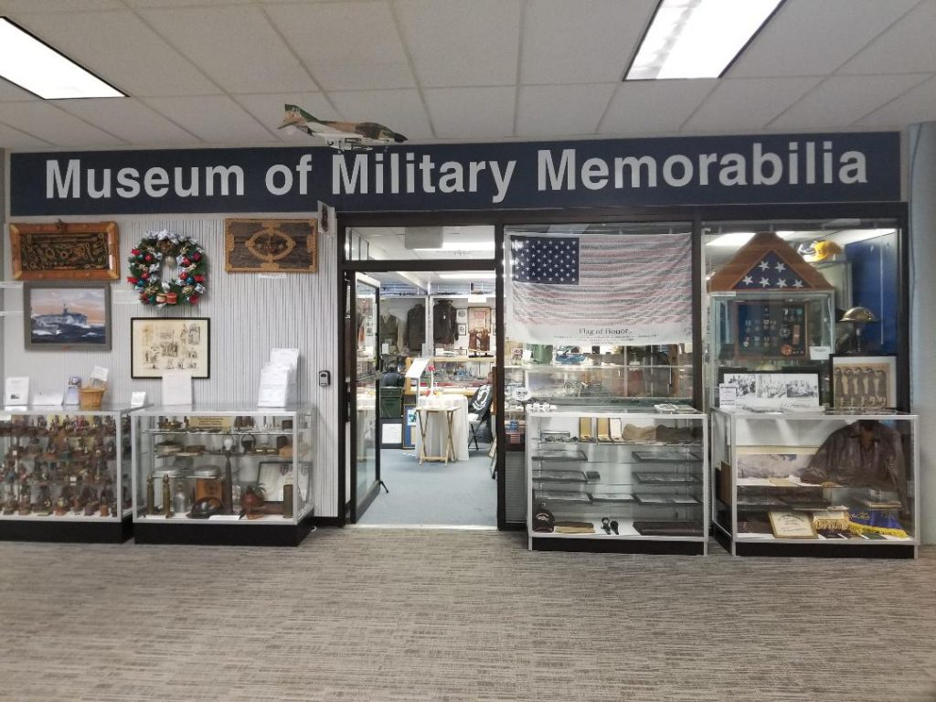 Free Military Museum in Naples Florida. The Museum of Military Memorabilia displays unique military items from several US Wars. It's located in the Naples Airport