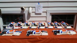 Nerf Gun Birthday Party Goody Bags