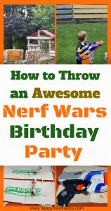 Throw an Nerf Birthday Party