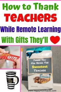 Remote Teacher Appreciation Gift Ideas They'll Love. Fun & inexpensive gift ideas to give virtually or in person school. Show you care at Christmas, End of the year or holiday with gifts they really want this year.