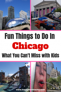 7 Awesome Things to Do in Chicago with Kids. Guide to the Best downtown Chicago Attractions for your family. Bonus it even includes some free activities! Find Museums to go to in the winter and great parks for the summer months. You'll love these family friendly ideas. #chicagoattractions, #thingstodochicago