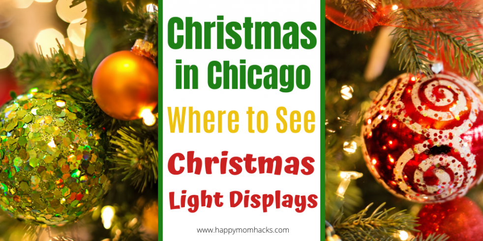 Christmas in Chicago. The best Christmas Light Displays to see. Things to Do with the kids over the holidays? Use this guide to find the best Christmas Light Displays for Families. #christmasinchicago, #holidaylights, #christmaslightdisplays