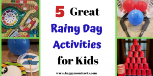 Rainy Day Activities & Games for Kids & Family Game Nights. How to keep your kids busy on cold and rainy days when your stuck inside. #rainydays #activities #kidsactivities #kidsgames
