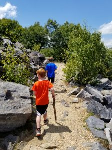 Hiking with Kids in the Shenandoah National Park.