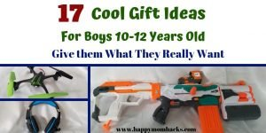 17 Gift Ideas for Boys Age 10, 11 &12.