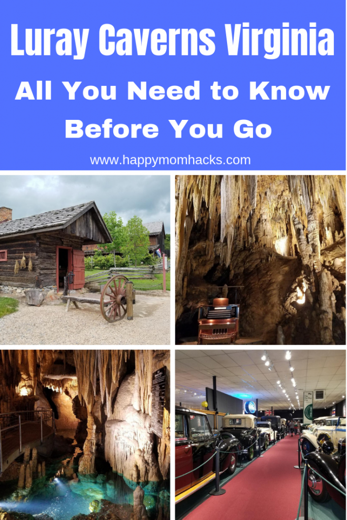 Luray Caverns Virginia Things to do on  your visit to this beautiful cavern.  Travel here to see a cool underground lake, wishing well, and stalagmite organ. Get all the tips for a great visit. #shenandoahvalley #traveltips #luraycaverns #caverns #familytravel