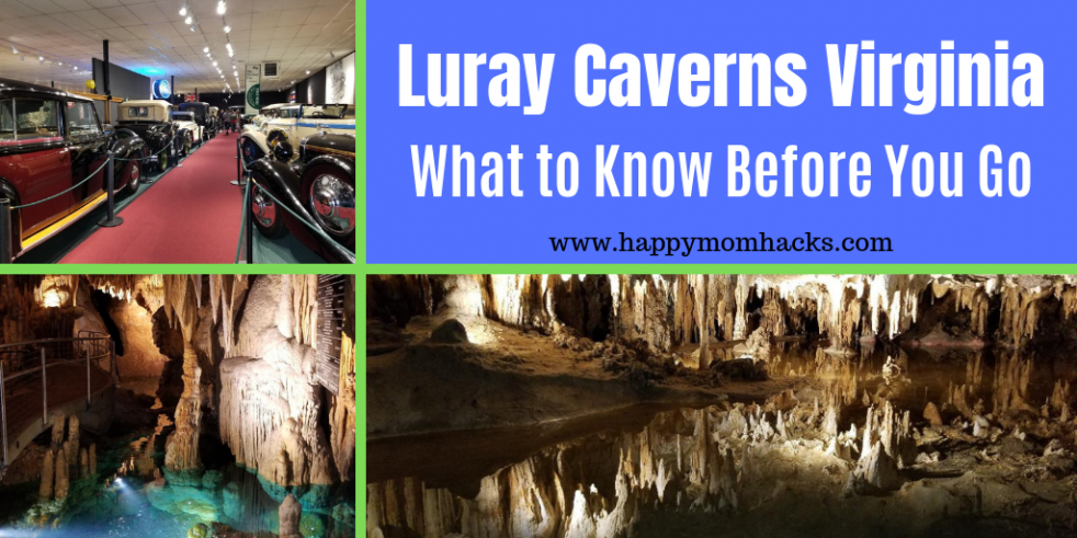 Luray Caverns Virginia - You cannot miss seeing this awe-inspiring cave when visiting Shenandoah Valley. Find out everything you need to know before you go. #luraycavern #virginia