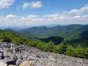 Beautiful Vistas in Shenandoah National Park. A fun family vacation to hike through this beautiful National Park . While in the area visit the Shenandoah Valley and Luray Caverns too. A great getaway the whole family will love!