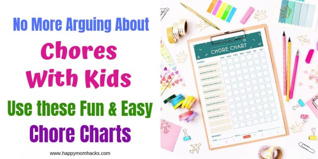 This is a picture of Free Printable Chore Charts for Kids intended for downloadable