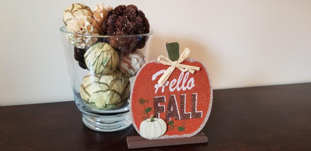 Dollar Tree Fall & Halloween signs to decorate your house from Dollar Tree.