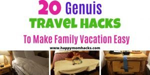 Unbelievable Travel Hacks for kids and Travel Tips for Hotel visits. Perfect for Road Trips and Family Vacations. DIY Hacks to save you money and be stress free on vacation. Check it Out! #travelhacks #traveltips #diyhacks #familyvacation #familytraveltips