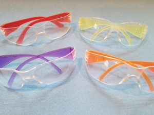 Protect Your Kids Eyes while playing with Nerf Guns by using safety glasses. A must have Nerf Party supply for safety.