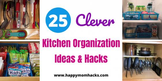 25 Clever Kitchen Organization Ideas & Hacks.