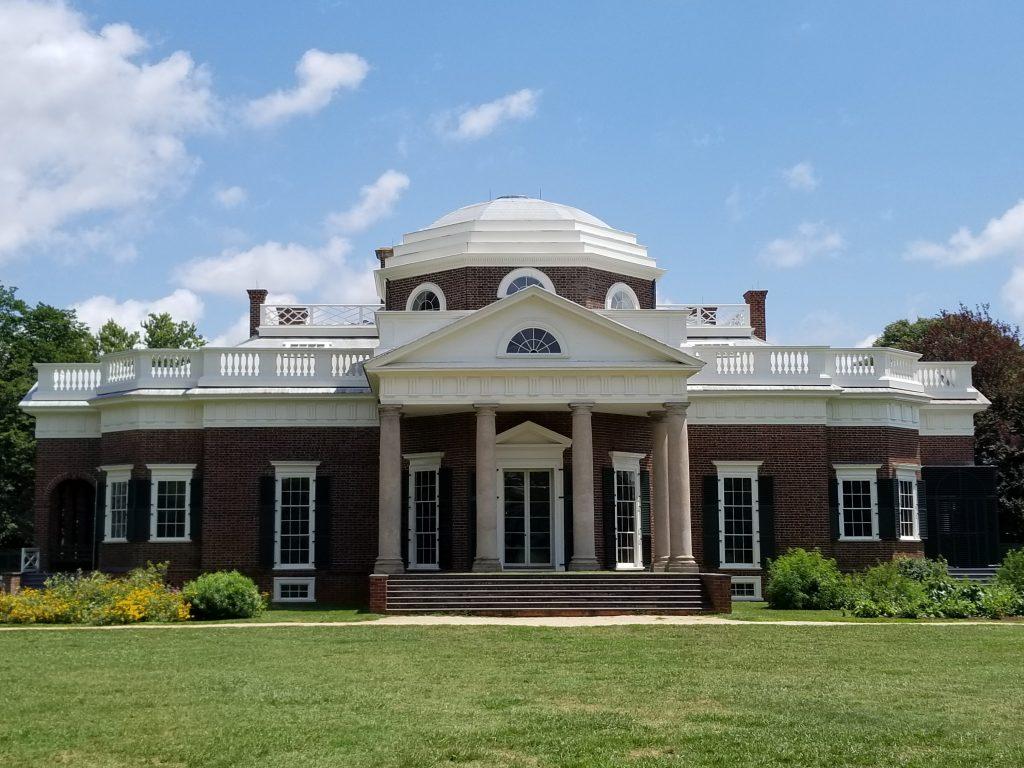 Thomas Jefferson's Monticello Plantation Home