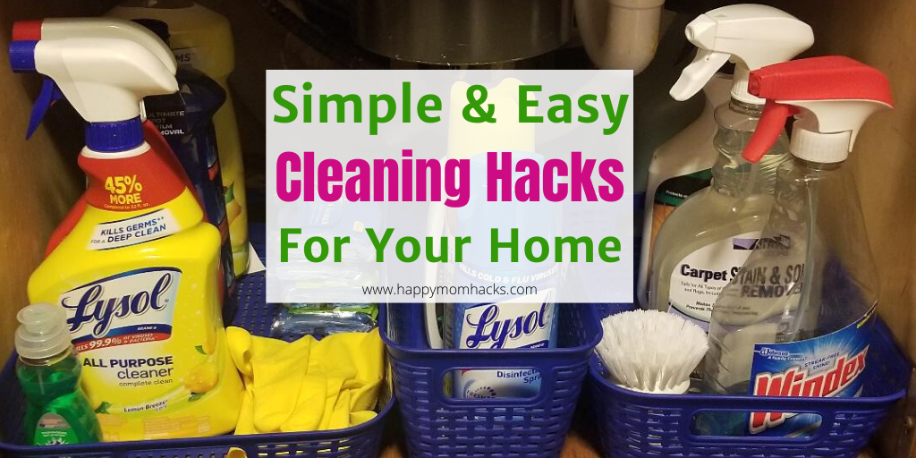 Cleaning Hacks and Tips & Tricks for your home. How to clean your washing machine and whole house. #cleaninghacks #cleaning