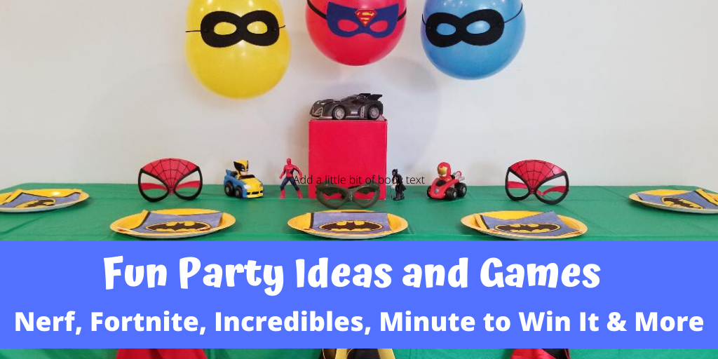 Party Ideas & Games for Kids. Fun party themes and decorations for kids of all ages.