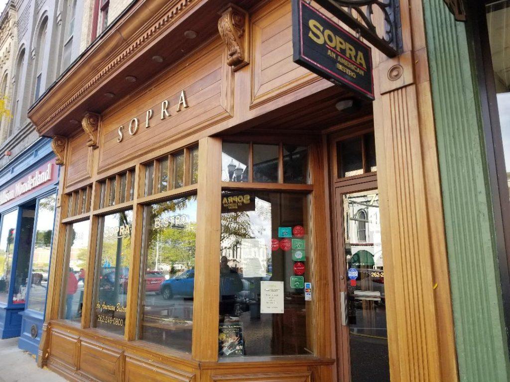 Best Restaurant in Lake Geneva WI Sopra Bistro. Delicious Italian restaurant in the heart of downtown Lake Geneva. #lakegeneva #resturants #thingstodolakegeneva #wisconsin