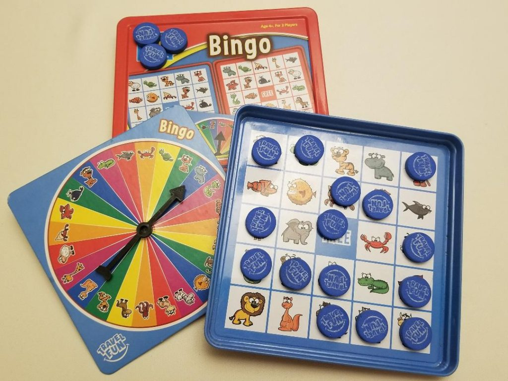 Bingo Travel Games for Kids. Keep kids entertained on road trips and airplane flights with fun travel games.