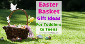 Easter Basket Ideas for kids from Toddlers to Teenagers. Non Candy Easter Gift Ideas your kids will love. Find creative ideas broken up by each age group with easy to get last minute Easter Gifts ideas. Be ready for a fun Easter Morning. #eastergifts #Easter #Easterbasketideas #teengifts #toddlergifts #boygifts #girlgifts #noncandygifts