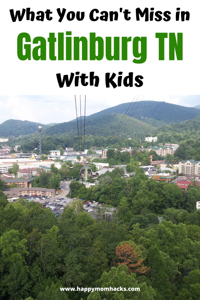 Fun Things to do in Gatlinburg TN with Kids. Families will love the Ripley's Museums, Ober Gatlinburg, Space Needle Aquarium and more. The highlight is the nearby Smoky Mountains which are amazing. Find out why your family is going to love it. #gatlinburgtn #gatlinburg #smokymountains