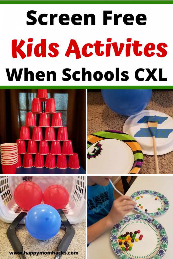 Fun Indoor Kids activities on Rainy or cold days. Keep the kids busy when schools our with these easy to create games they'll love! #kidsgames #kidsactivities #indoorgames #indooractivities #kids