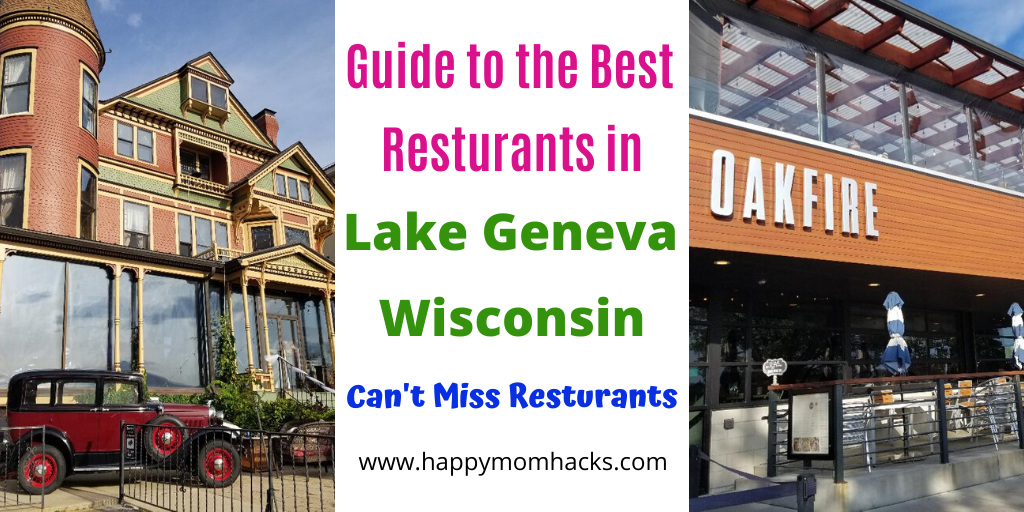 Best Restaurants in Lake Geneva Wisconsin. What can't be missed for Breakfast, Lunch and Dinner in Lake Geneva. Enjoy your weekend getaway in lake Geneva with these fun and delicious restaurants from fancy to casual family restaurants. A full guide for you visit. #lakegeneva #resturants #thingstodolakegeneva #wisconsin #lakegenevawi