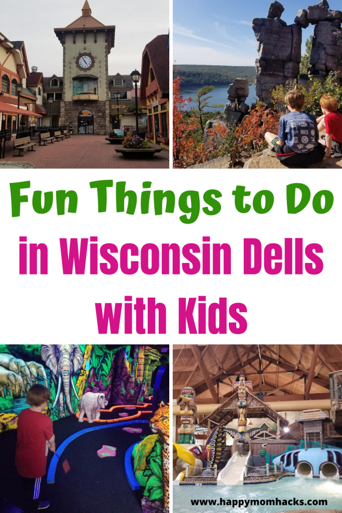 Top Things to Do in Wisconsin Dells with Kids. Which Wisconsin Dells Attractions you can't miss and tips for a great Wisconsin Family vacation. Use this guide to plan you trip & be ready to have fun! #wisconsinvacations #wisconsindells #thingstodowisconsindells #traveltips #familyvacation #familytravel