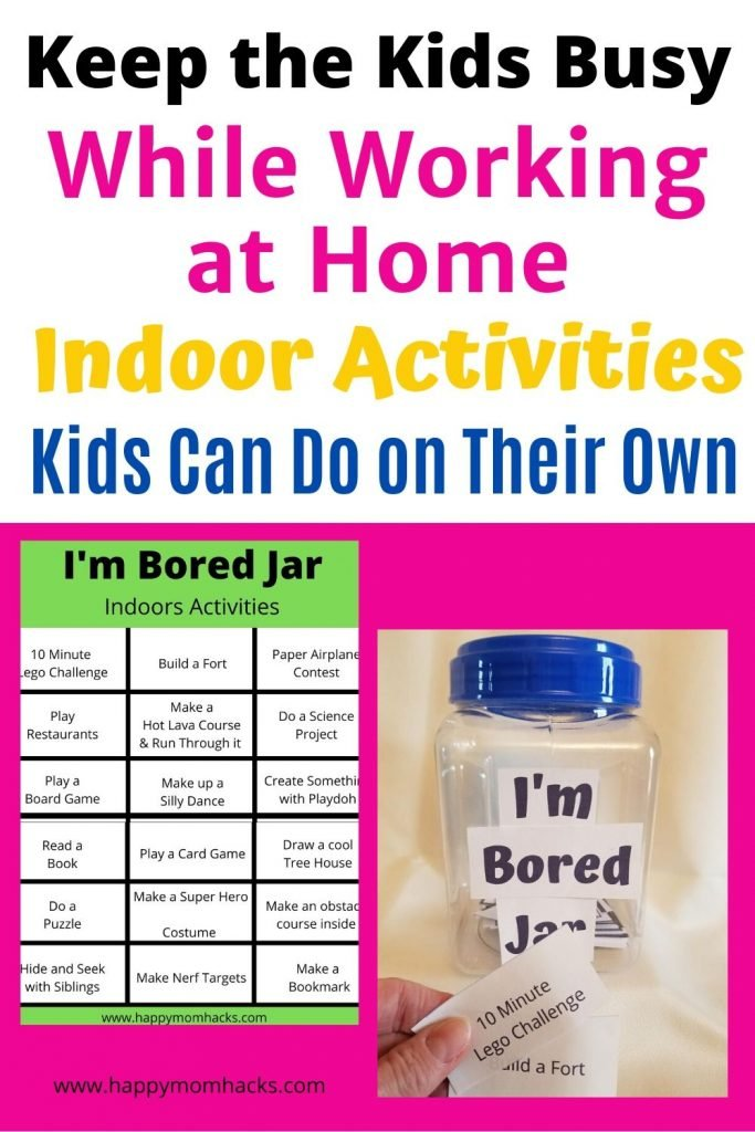 36 Things To Do When Your Kids Are Bored I M Bored Jar Happy Mom Hacks