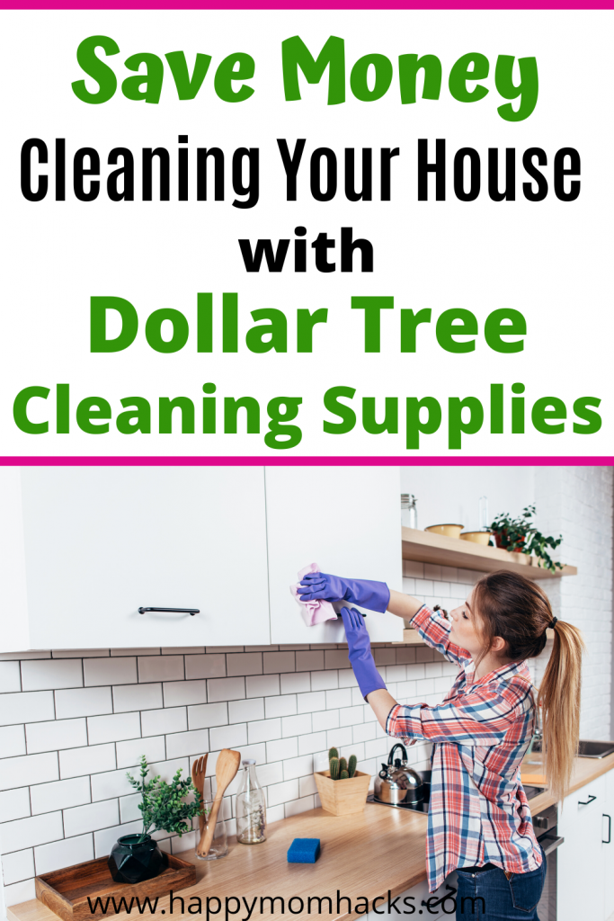 Best Cleaning Supplies from Dollar Tree for your home. Disinfect your whole house without spending a lot money.  You'll be amazed how well they work! #dollartree #cleaningtips #householdcleaning #cleaninghacks #cleaningsupplies