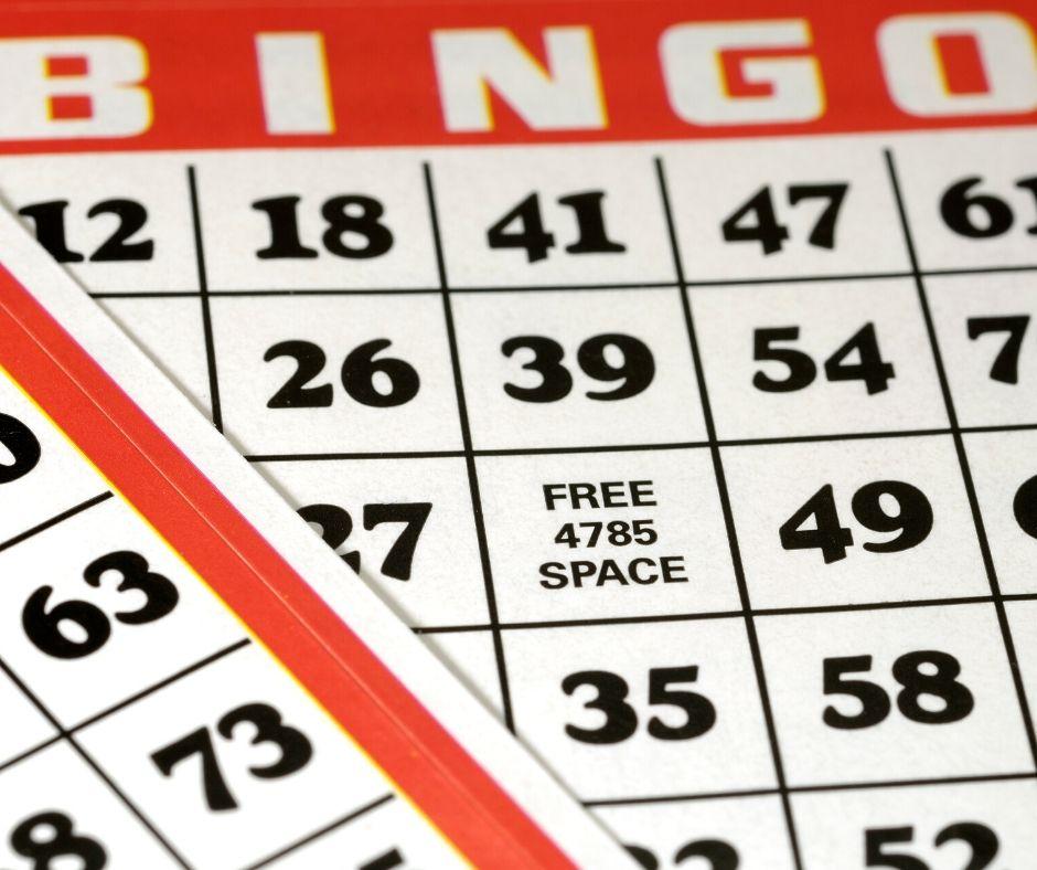 Virtual bingo cards zoom