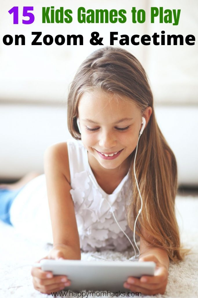 15 Best Zoom Games for Kids to play with friends and family. Stay connected with these fun virtual games for Zoom or Facetime.