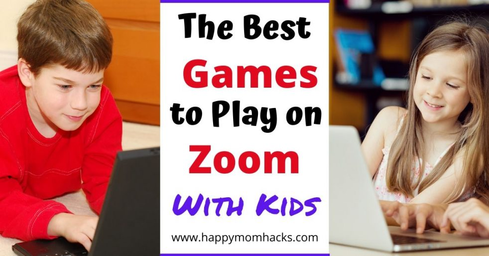 15 Best Games To Play On Zoom With Kids Happy Mom Hacks