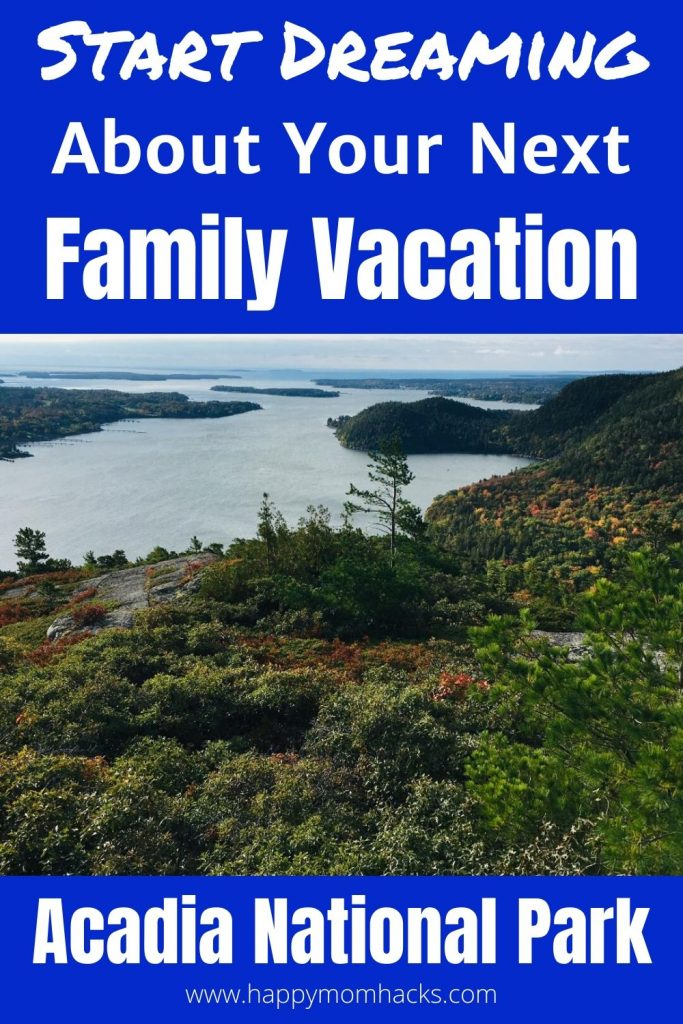 Acadia National Park- Fun Things to do with kids at this stunning National Park in Maine.  A perfect family vacation destination. Find out what you can't miss. #acadianp #nationalpark #thingstodoacadia #acadianationalpark #familyvacation #vacationwithkids