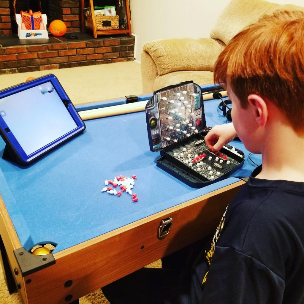 How to Play Battleship on Zoom or Facetime with friends. Stay connected with this fun game for kids and adults. #zoomgame #gamestoplayonzoom #kidsgames #virtualgames