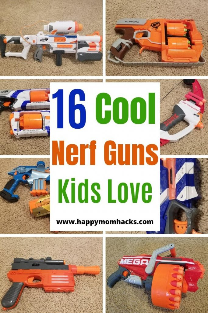 Best Nerf Guns for Nerf Games & Nerf Wars for Kids. We review the top Nerf Guns and let you know which ones will work best for your child. Cool Guns for indoor & Outdoor Nerf Games. #nerfgames #nerfwar #nerfguns #nerfgunreview