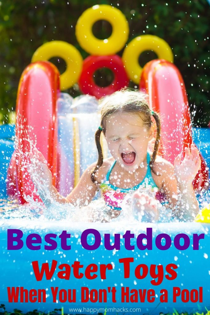Best Water Toys for Kids Outdoors. Summer outdoor activities for kids to keep them cool and active in your own backyard when your stuck at home. Make this summer memorable with awesome water toys for Toddlers to 10 Year olds. #kidsactivities #watertoys #outdooractivitiesforkids #summer #watergames