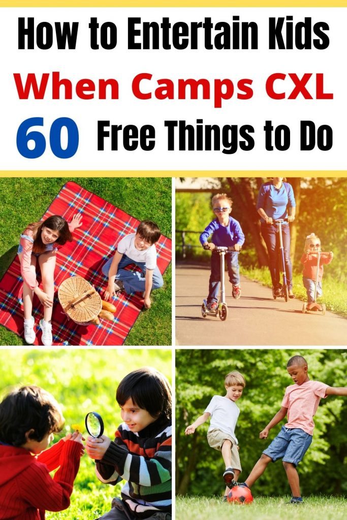 Fun & Free Things to Do With Kids at home all summer long. Is camp canceled or do you just need some fun summer kids activities? Then this list of indoor and outdoor activities for kids is what you need. Make it a fun a memorable summer while saving money. #kidsactivities #thingstodowithkids #freeactivities #activitiesforkids #indooractivities #outdooractivities