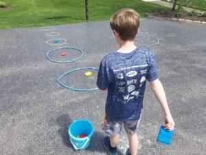 Outdoor Game for Kids Sponge Toss.