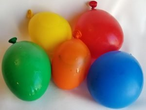 Frozen Ice Balloons for Kids a fun balloon game and STEM Experiment