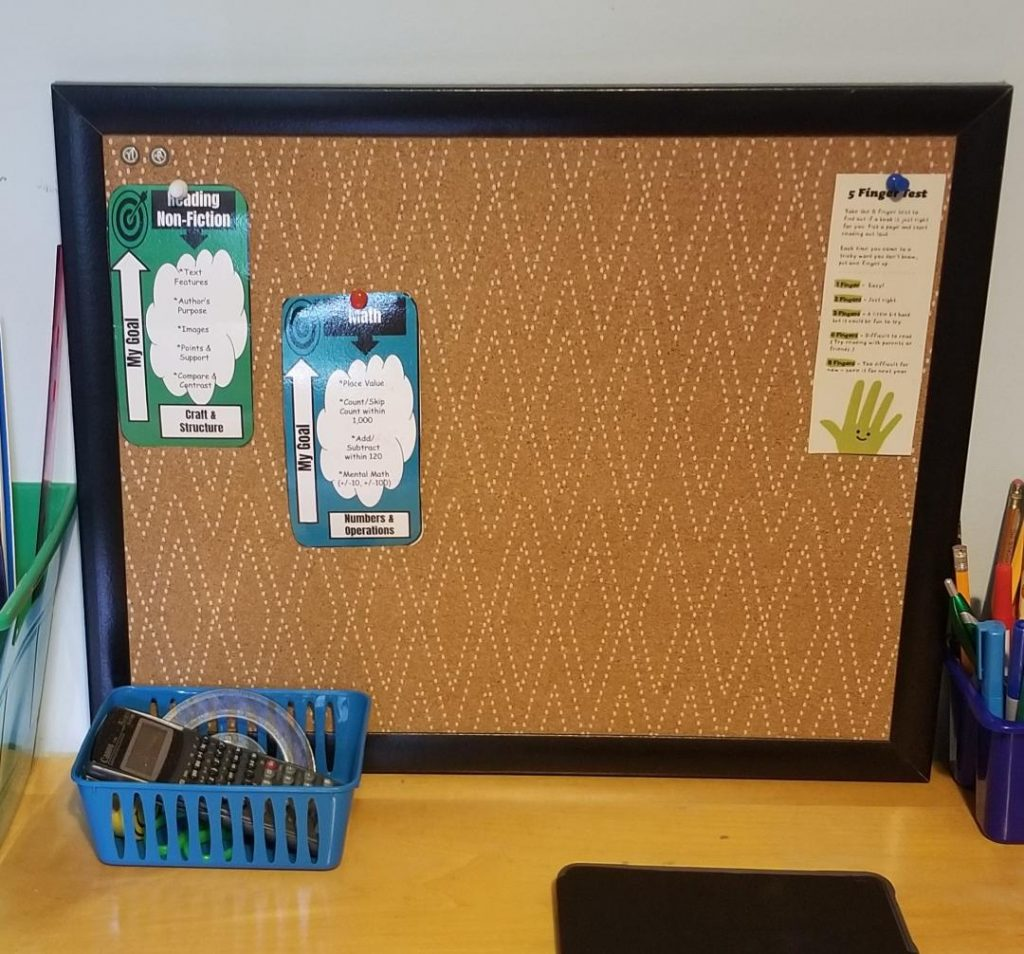 Cool Bulletin Boards for organizing homeschool rooms.