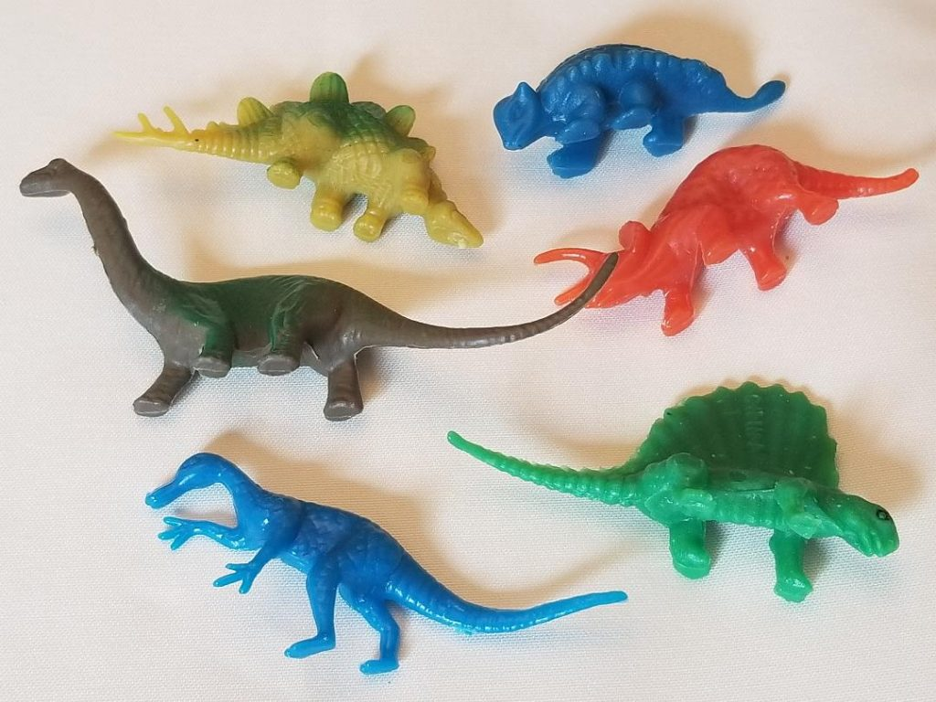 Outdoor Dinosaur Hunt for Kids. Fun kids activity