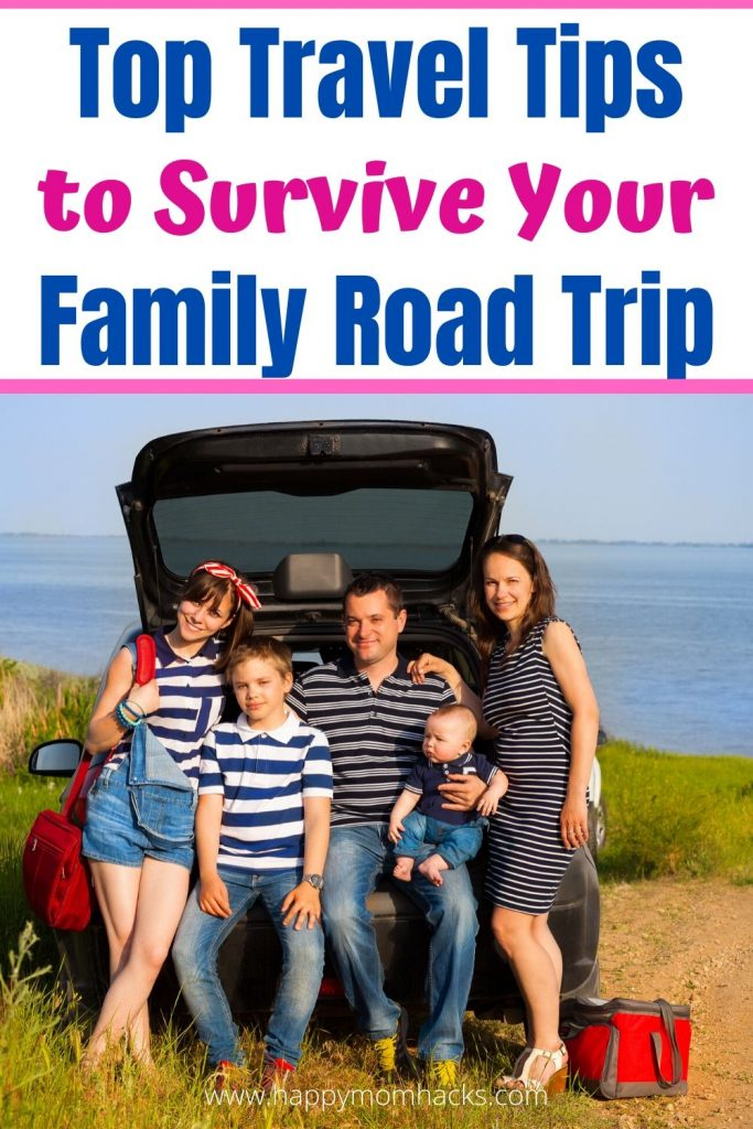 Unique Travel Tips for Family Road Trips. Be ready for an unforgettable car trip with the kids. Find the best travel apps to use, snacks to pack, activities for kids and more. Don't just survive your family vacation make it fun and stress free. #traveltips #roadtrips #familyvacation #travelwithkids #tavelapps #activitiesforkids