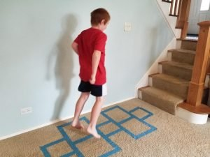 Hopscotch is a fun Indoor activity & game for kids.